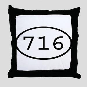 716 Oval Throw Pillow