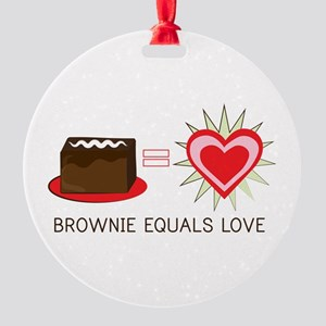 Brownie Equals Love Ornament