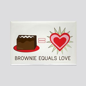 Brownie Equals Love Magnets