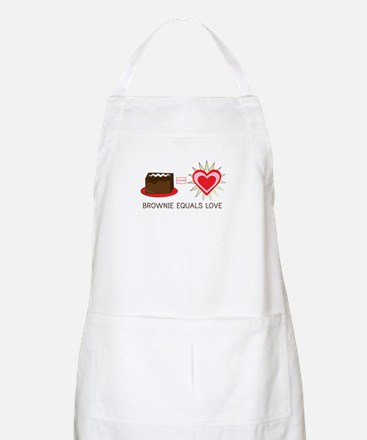 Brownie Equals Love Apron