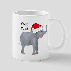 Christmas Elephant Mug