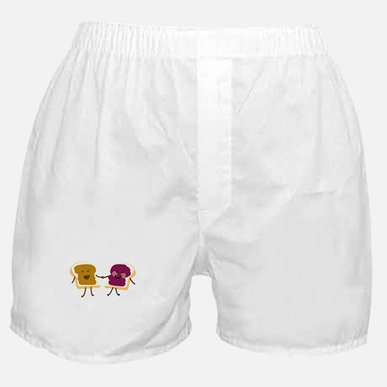 Peanutbutter and Jelly Boxer Shorts