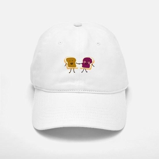 Peanutbutter and Jelly Baseball Baseball Baseball Cap