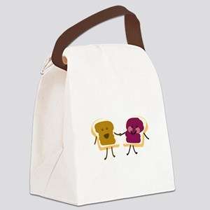 Peanutbutter and Jelly Canvas Lunch Bag