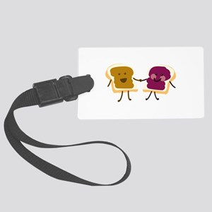 Peanutbutter and Jelly Luggage Tag
