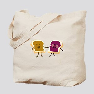 Peanutbutter and Jelly Tote Bag