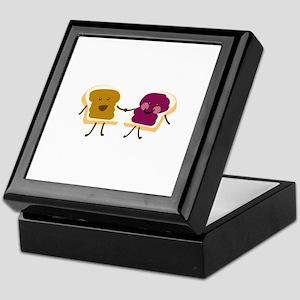 Peanutbutter and Jelly Keepsake Box