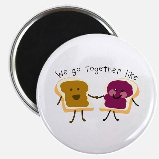 Together Sandwich Magnets
