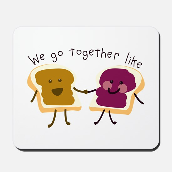 Together Sandwich Mousepad