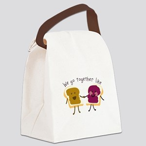 Together Sandwich Canvas Lunch Bag