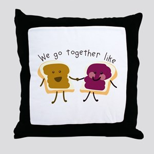 Together Sandwich Throw Pillow