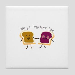 Together Sandwich Tile Coaster