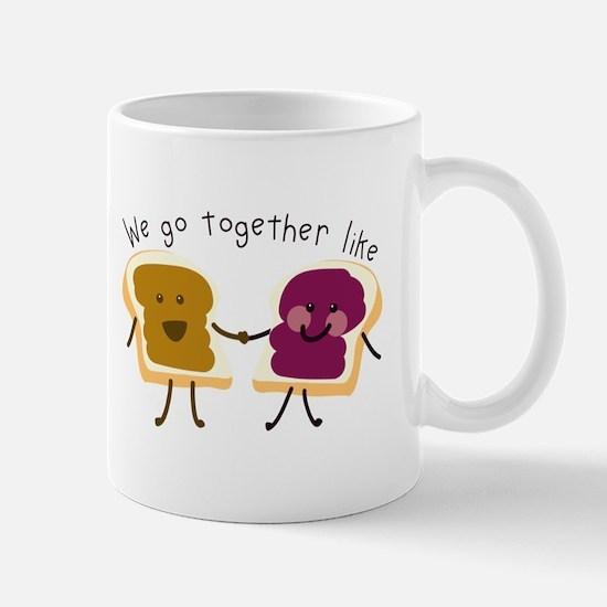 Together Sandwich Mugs