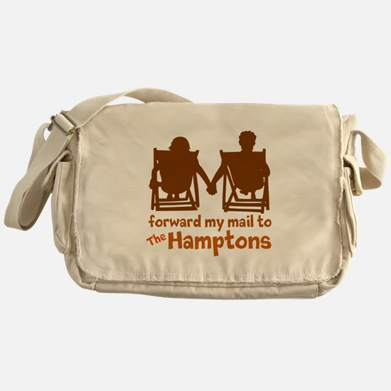 The Hamptons Messenger Bag