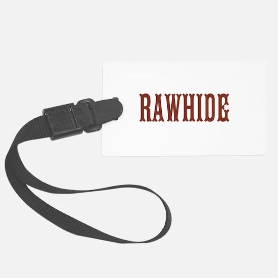 Rawhide Luggage Tag
