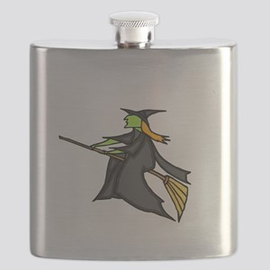 Witch Flying Flask