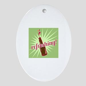 Refreshing Pop Ornament (Oval)