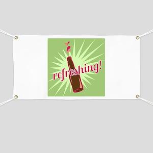 Refreshing Pop Banner