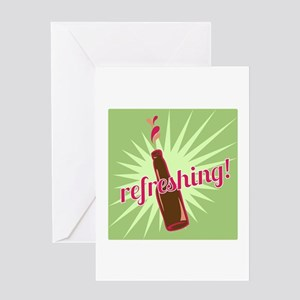 Refreshing Pop Greeting Cards