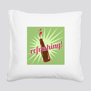 Refreshing Pop Square Canvas Pillow