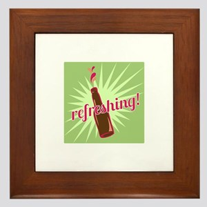 Refreshing Pop Framed Tile