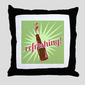 Refreshing Pop Throw Pillow