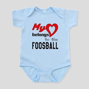 My Heart belongs to the Foosba Baby Light Bodysuit