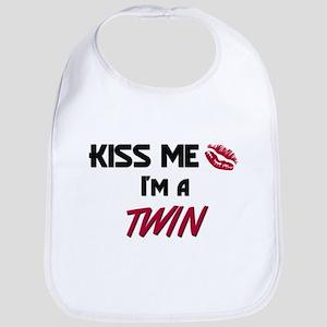 Kiss Me, I'm a TWIN Bib
