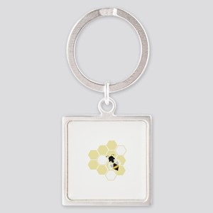 Honeybee Keychains