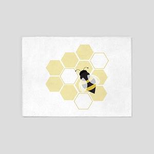 Honeybee 5'x7'Area Rug