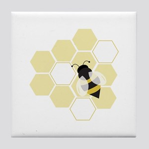Honeybee Tile Coaster