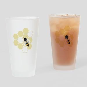 Honeybee Drinking Glass