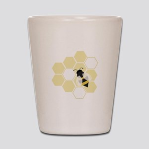 Honeybee Shot Glass