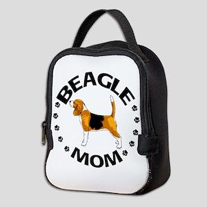 Beagle Mom Neoprene Lunch Bag