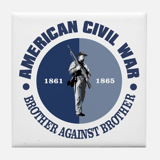 American Civil War Tile Coaster