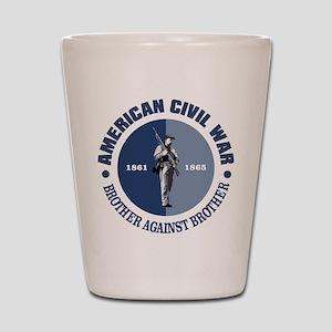 American Civil War Shot Glass