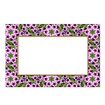 Floral Mosaic Frame Postcards (Package of 8)