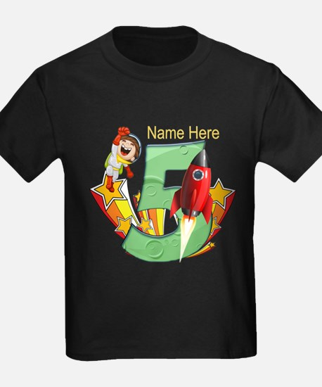 Rocket 5th Birthday T