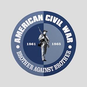 "American Civil War 3.5"" Button"