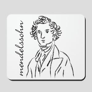 Felix Mendelssohn Mousepad