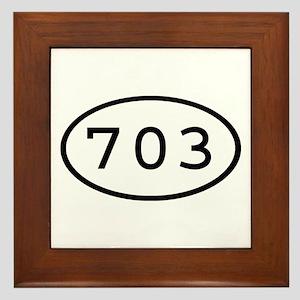 703 Oval Framed Tile