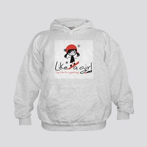 Shred Like a girl! Kids Hoodie
