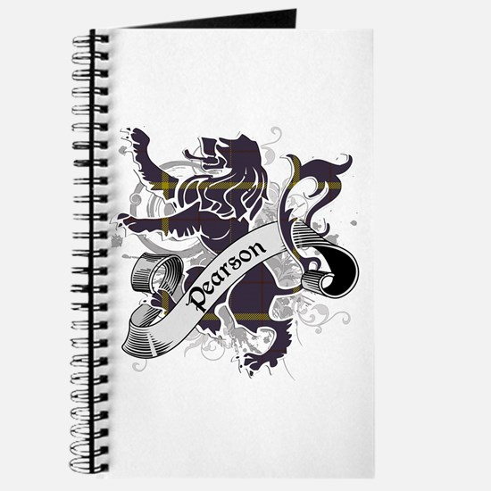 Pearson Tartan Lion Journal