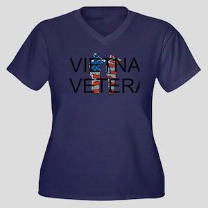 Vietnam Veteran Plus Size T-Shirt
