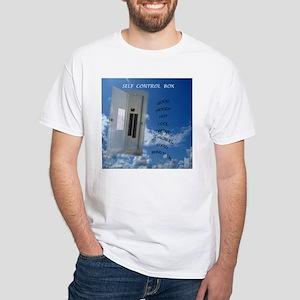 Self Control White T-Shirt