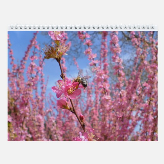 Flowers and Bugs Wall Calendar