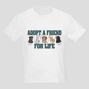 Adopt A Friend Kids Light T-Shirt