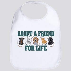 Adopt A Friend Bib