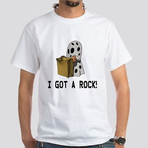 I got a rock! White T-Shirt
