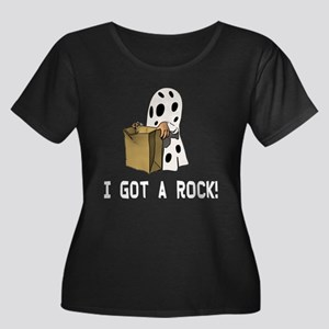 I got a Women's Plus Size Scoop Neck Dark T-Shirt
